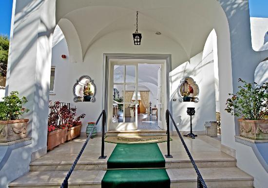 Hotel Villa Sanfelice: Patio