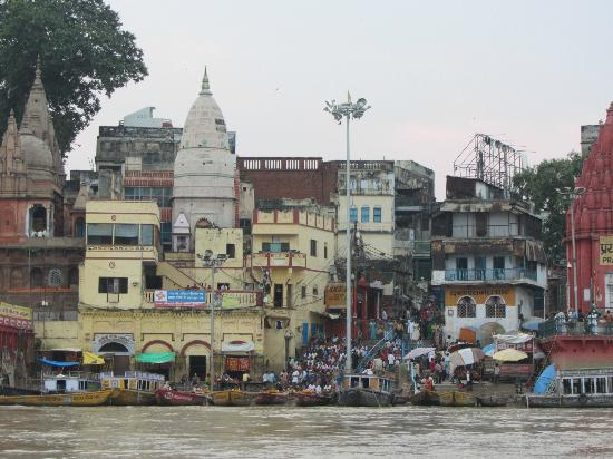 Hotel Temple on Ganges: view