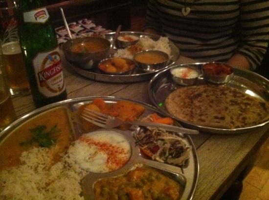 Thali Cafe Clifton: Thali,Bristol