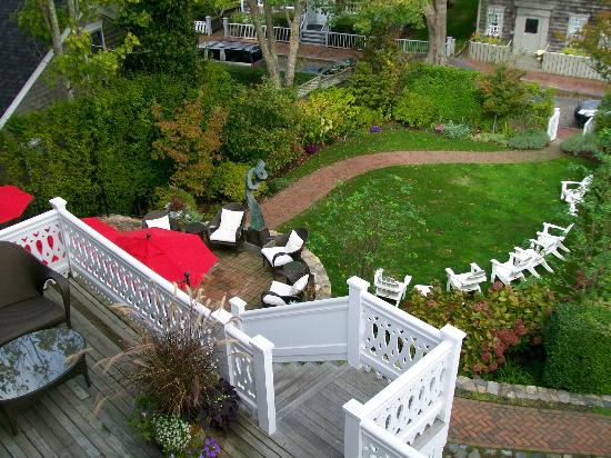 The Chapman House: View from Veranda House