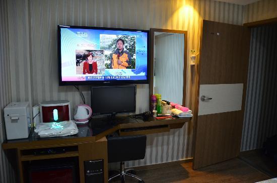 City Park Motel: Kamer
