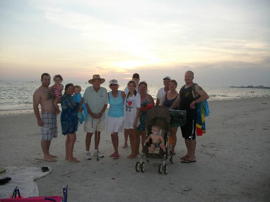Beach House Hotel : Our family on Treasure Island 2012