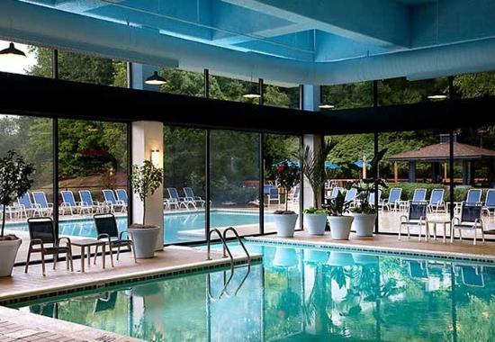 Indoor outdoor pool picture of crowne plaza charlotte - Indoor swimming pools charlotte nc ...