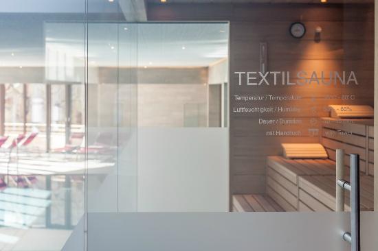 Hotel Tyrolerhof: Textilsauna