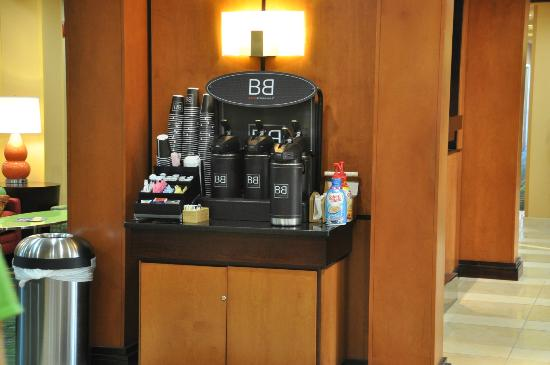 Fairfield Inn & Suites Paducah: Coffee Bar