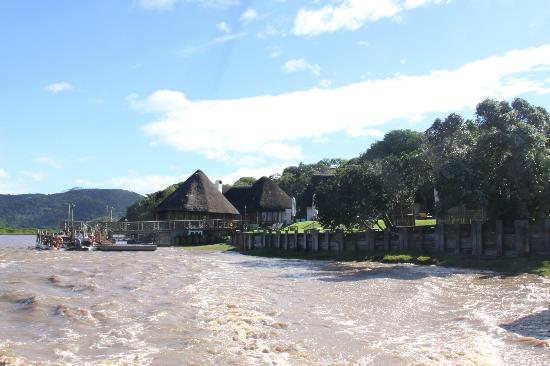 Umngazi River Bungalows & Spa: from the river ferry