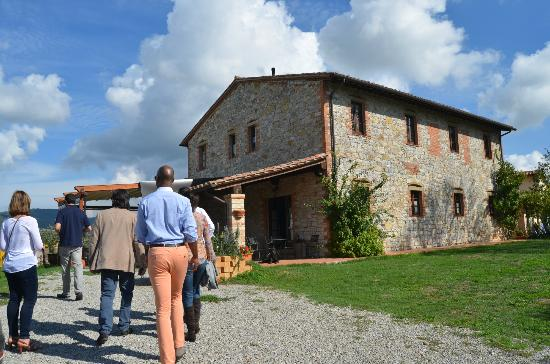 Agriturismo Gattogiallo: looking forward to lunch!!!