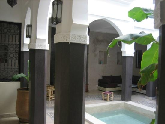 Riad Alnadine: le patio