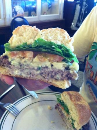 Star Drug Store: Blue Cheese Burger