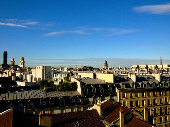 Citadines Saint-Germain-des-Pres Paris: view from my apartment
