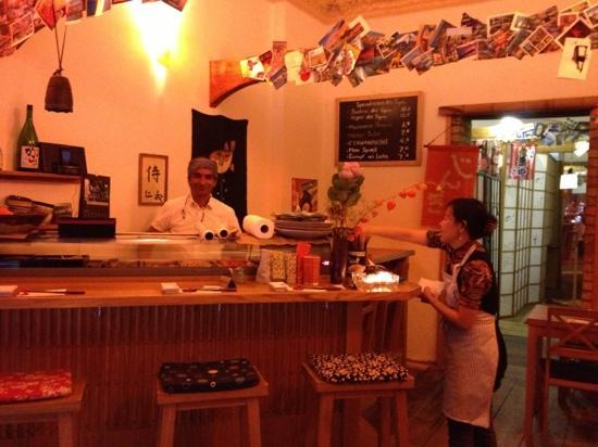 Gingi Sushi Sashimi: le meilleur aussi bar de Berlin !