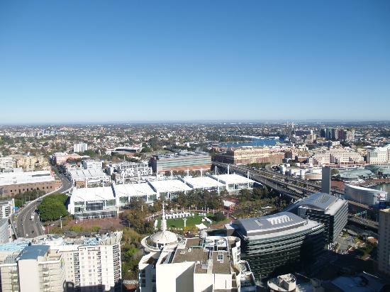 View from our apartment on 46th Floor toward Darling Harbour