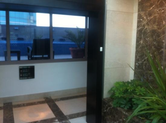 InterContinental Al Khobar : pool/gym entrance