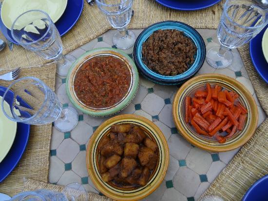 Chez Larbi Ourika: Délices