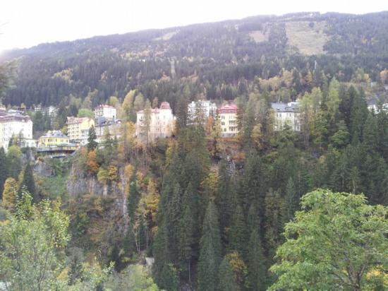 Villa Excelsior Hotel & Kurhaus: vue de ma chambre !!