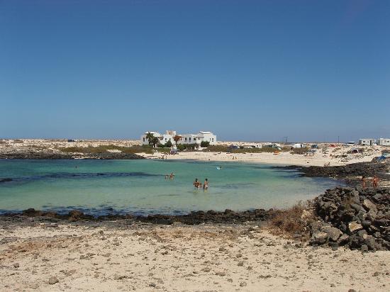 Villas del Sol: El Cotillo - lagoon beach to north