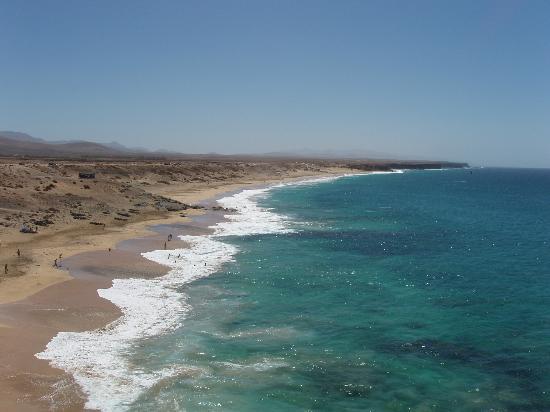 Villas del Sol: El Cotillo - big beach to south