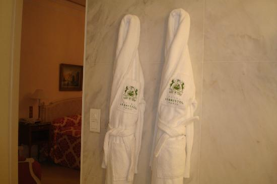 Le Bristol Paris: plush robes