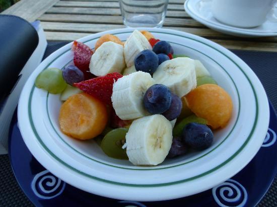 La Casa del Pescatore: Lovely breakfast fruit salad