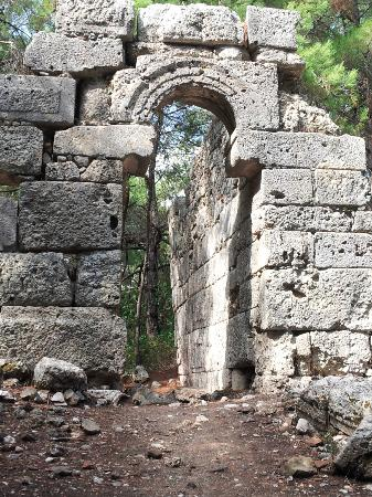 Phaselis Antique City: history 