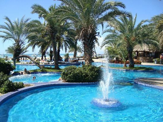 Coche Paradise Hotel Isla Margarita: Pileta Principal
