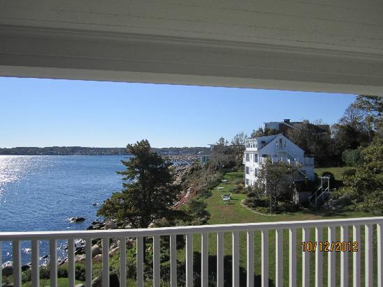 Yankee Clipper Inn: view from the deck