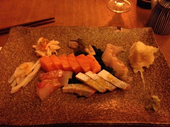 Gingi Sushi Sashimi: les sashmi délicieux