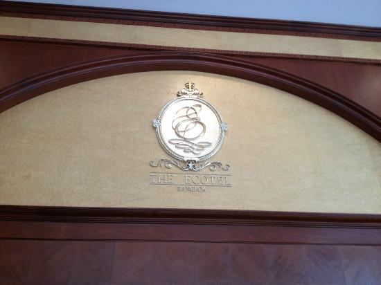 The Ecotel Bangkok: lobby logo