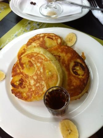 Hearts Cafe: banana pancakes 9 sol