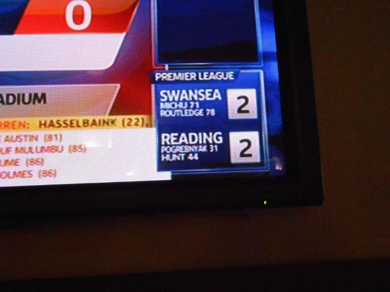Viva Can Picafort: Swans just managed to draw!! Whoo! Sports Bar