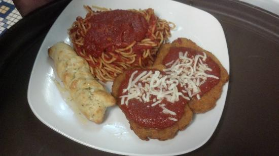Corner Bistro & Pizza Co: Veal Parm