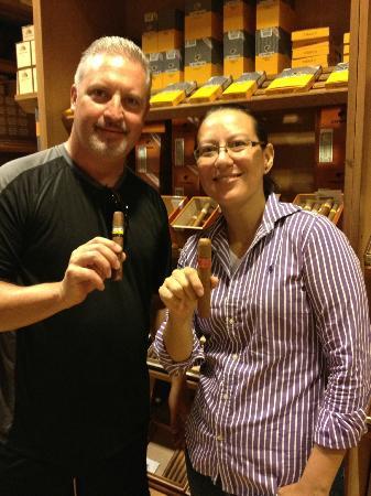 Cigar Emporium: Me and Jay Ras