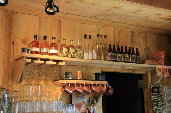 Peach Street Distillers: peach street distiller bar