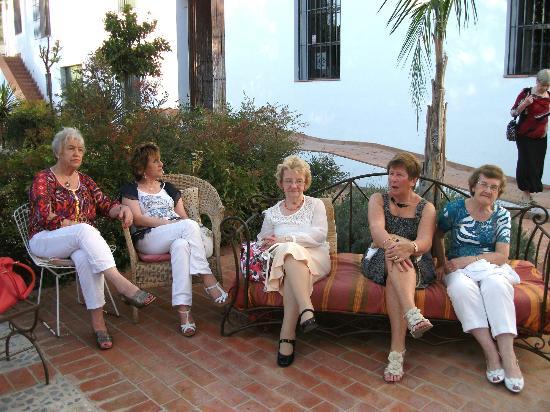 Villa Cortijo Andalus: Just enjoying the sun!