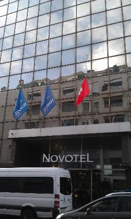 Novotel Geneve Centre: outside view