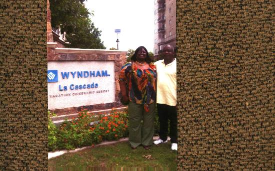 Wyndham La Cascada: having fun