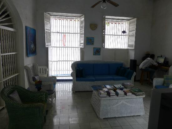 Casa de la Chicheria: Lounge Area