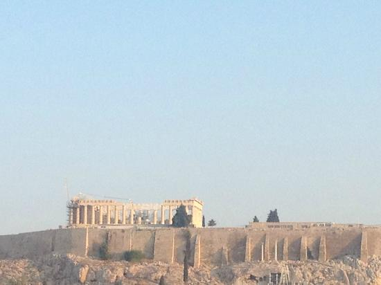 Acropolis Ami Boutique Hotel: Вид на Акрополь