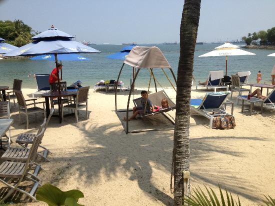 Bora Bora Beach Bar - Palawan Beach : view from the bar