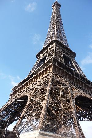 Hotel de la Paix Tour Eiffel: Eiffel tower