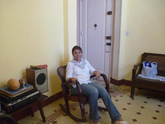 Casa Hilda y Alejandro: En la sala, descansando!