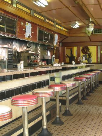 Quechee Diner: Cowboy-themed dining room
