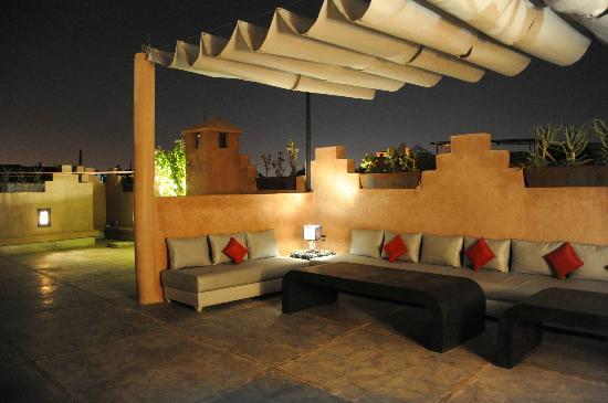 Riad Samarine : Terrasse