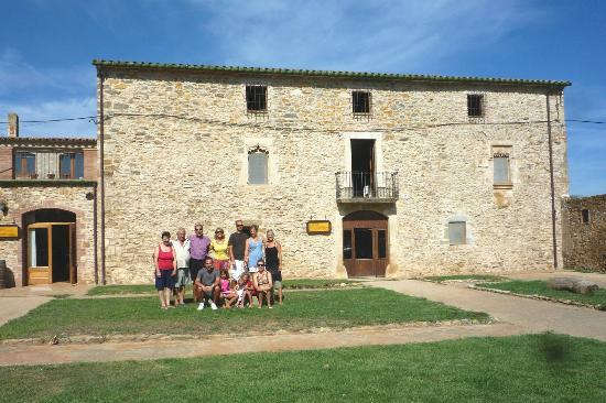 Can Casadella Rural : vista de la masia