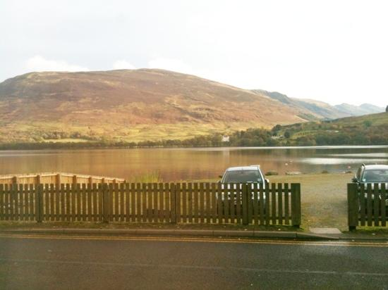 Clachan Cottage Hotel: view from bar