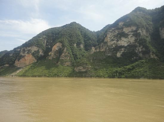 Three Gorges Dam Project: scenery at gorges