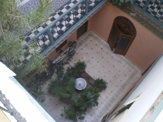Riad Hotel Essaouira: patio