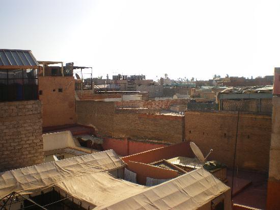 Riad Hotel Essaouira: toits
