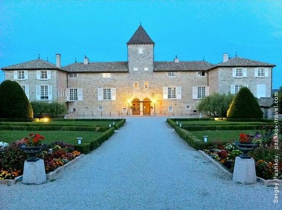 Chateau de Besseuil: Вид на шато