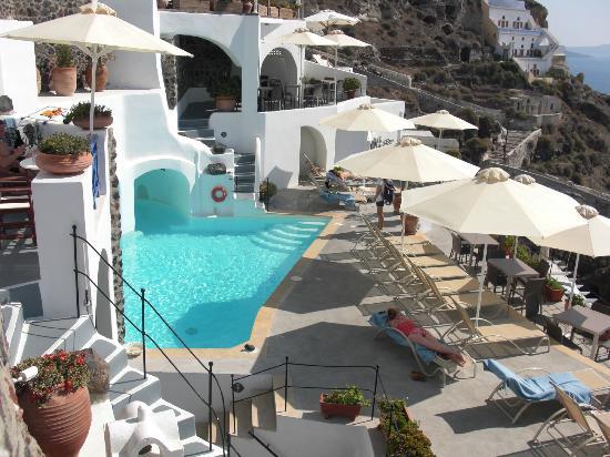Esperas Santorini: Pool area